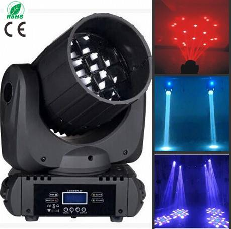 12pcs10w LED beam moving head light for stage disco dj