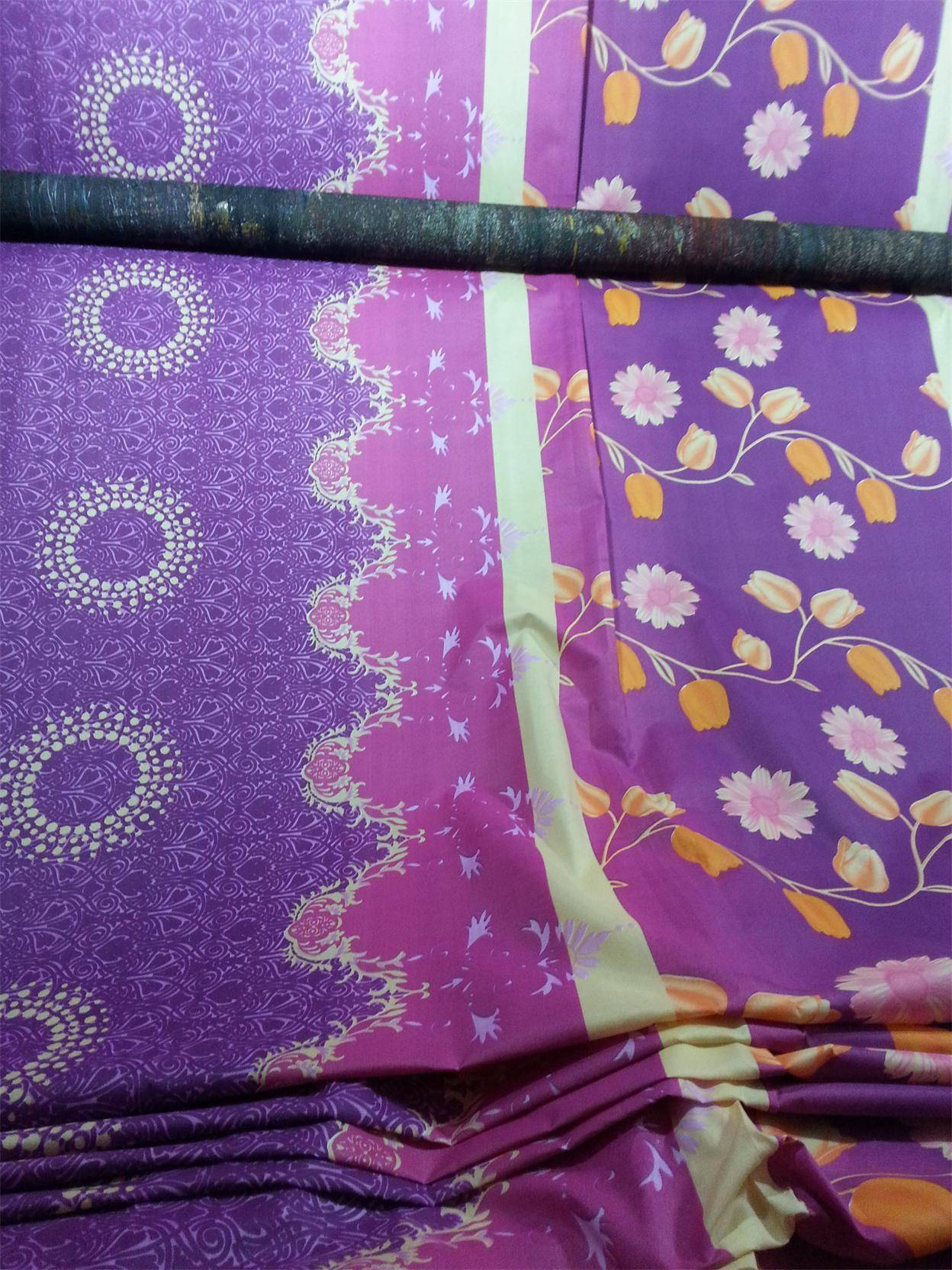 100% polyester brushed fabric textile fabric for bed sheet