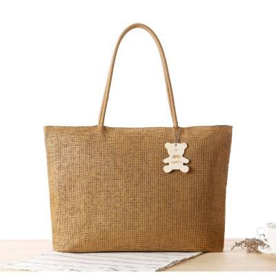 Netscoco Girls Straw Handbag Ladies Straw Bag