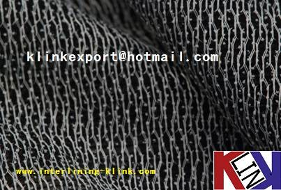 70% viscose & KNIT DOUBLE DOT PA FUSIBLE INTERLINING FOR GARMENT 80gsm ---BEST QUALITY