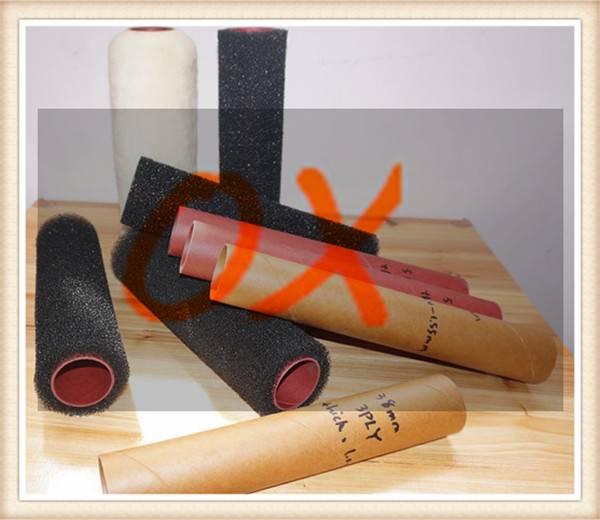 Phenolic paper tube for paint roller