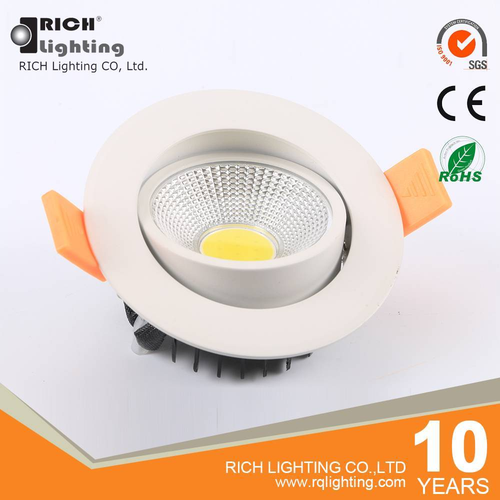 LED light source high quality COB led ceiling light 5w 85 diameter