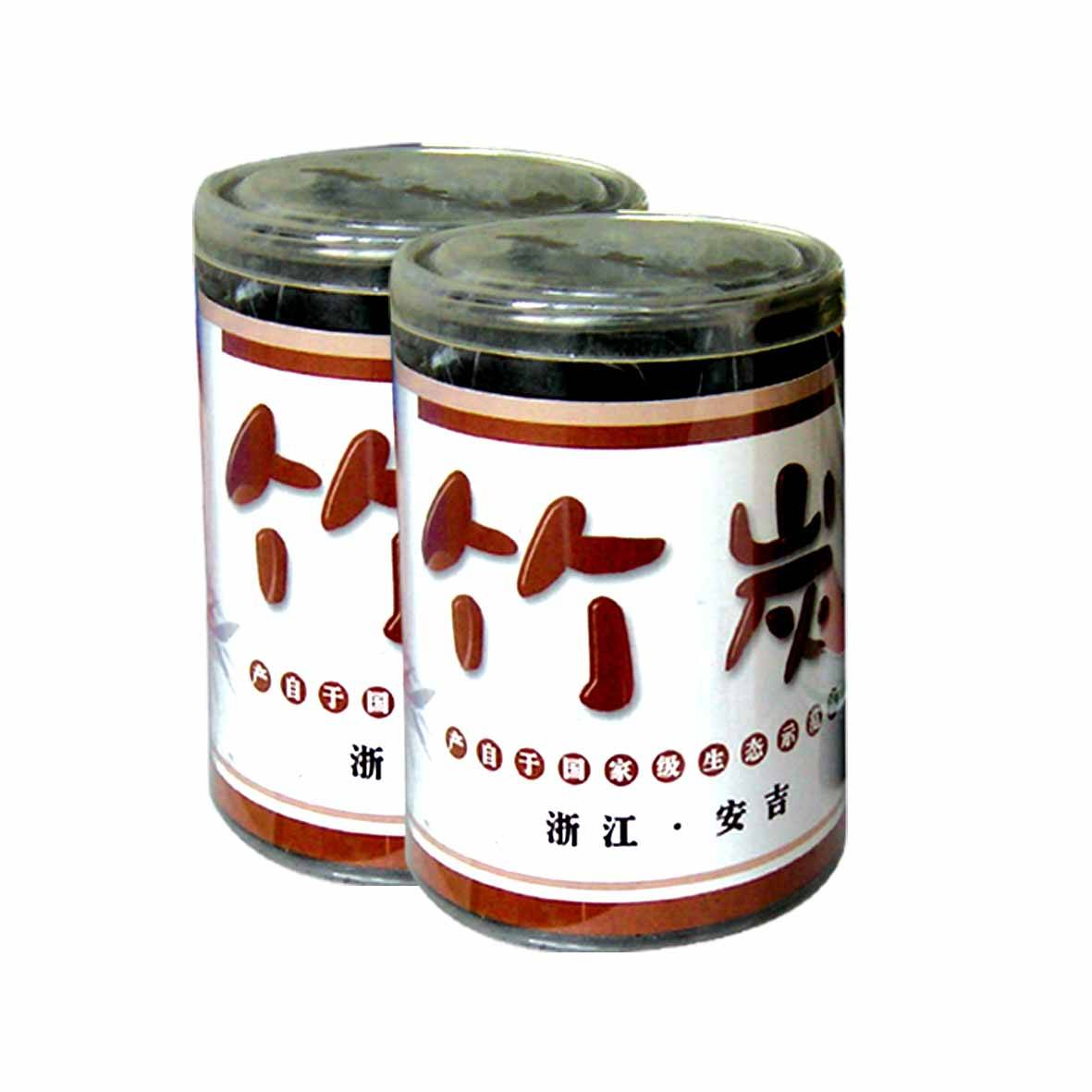 plastic cylinder bamboo charcoal