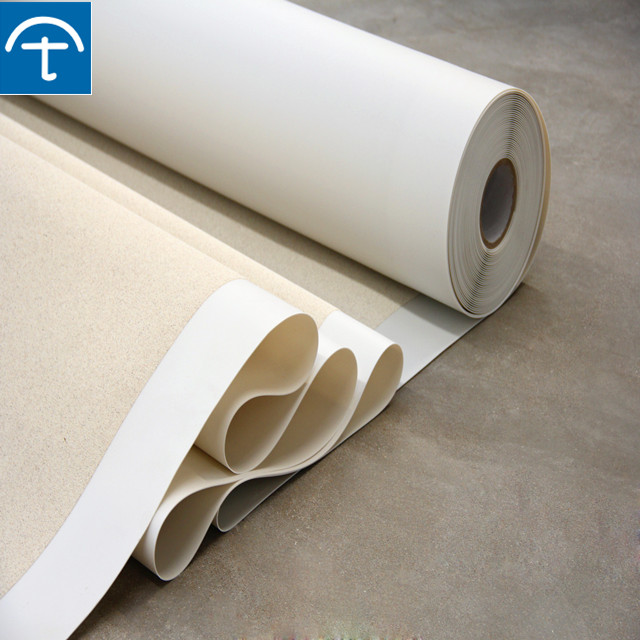 Sell 1.2mm preapplied HDPE waterproof membrane for basement floor