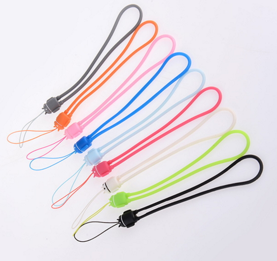 New Style Eco-Friendly Promotional Gifts Silicone Lanyard Rope