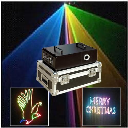 RGB full color animation laser stage light wedding light