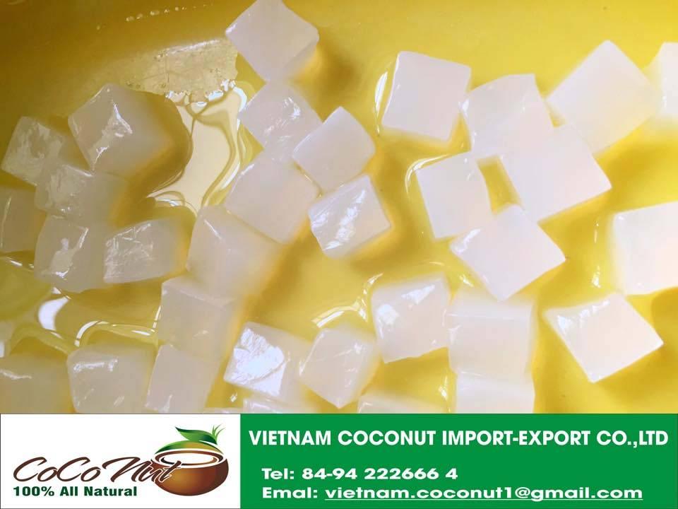 nata de coco in syrup/coconut jelly