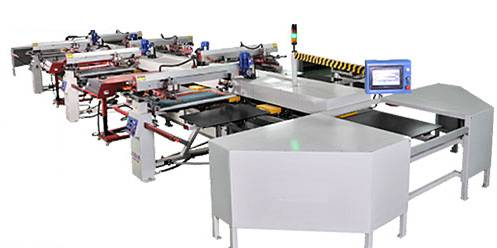 Automatic Multi Color Oval Screen Printing Machine