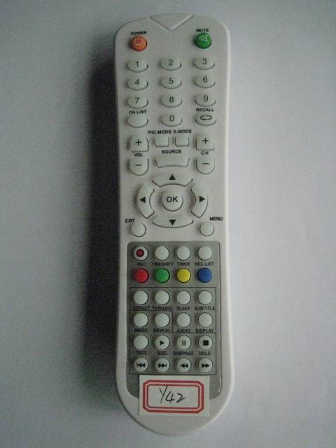 Sell Remote Control for Video & Audio, Universal,Y42-White