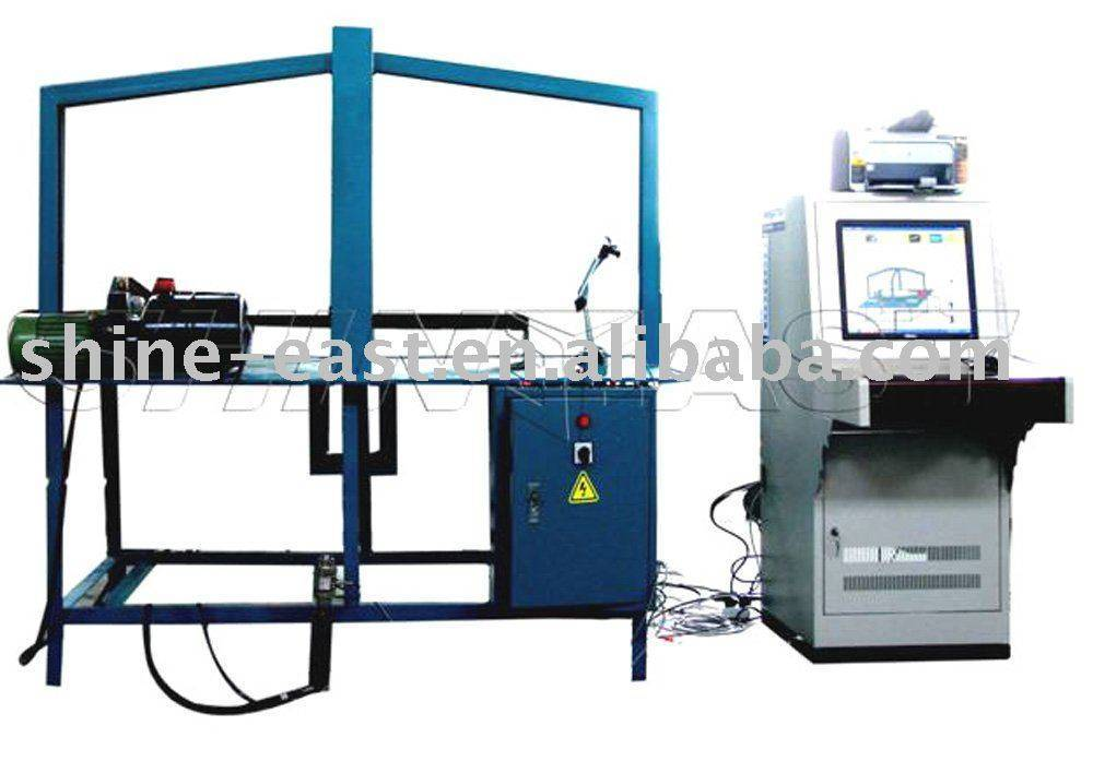 IPC Control Mode Gas Cylinder Mounting Brackets Strength Test Machine