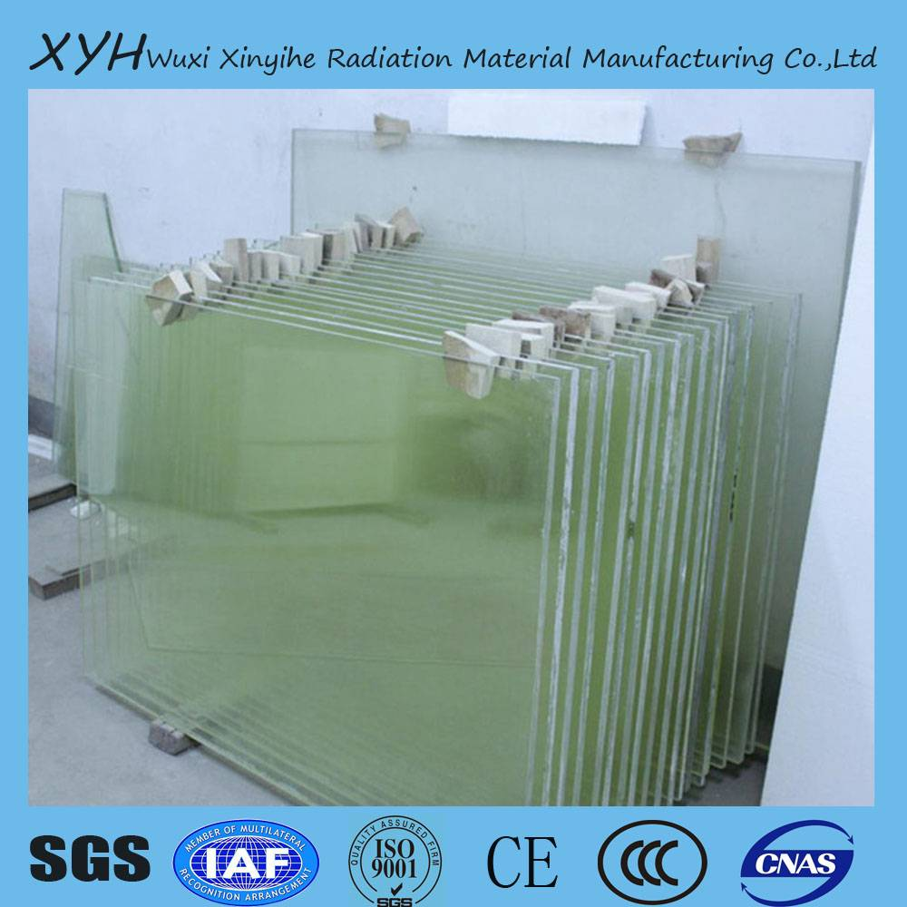 medical x-ray protection lead glass
