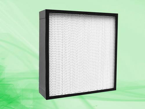 Deep-pleat high efficiency filter