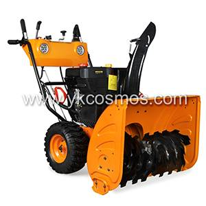 13HP Luxury Electric Starter Snow Sweeper With Two Lights