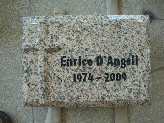 small grey baby tombstone engravings