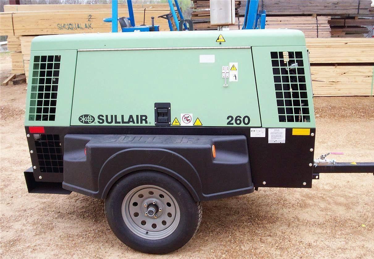 Air Compressor 260CFM Sullair