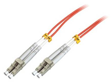 Supply FO Patch Cord LC/PC-LC/PC MM 62.5/125 Duplex with Clips 2M_Y0902-22
