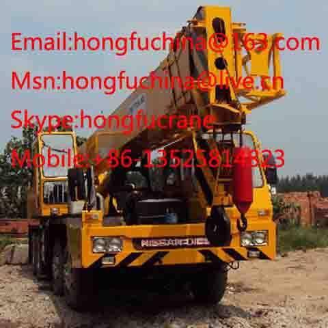 35 ton TADANO TL-350E truck crane for sale