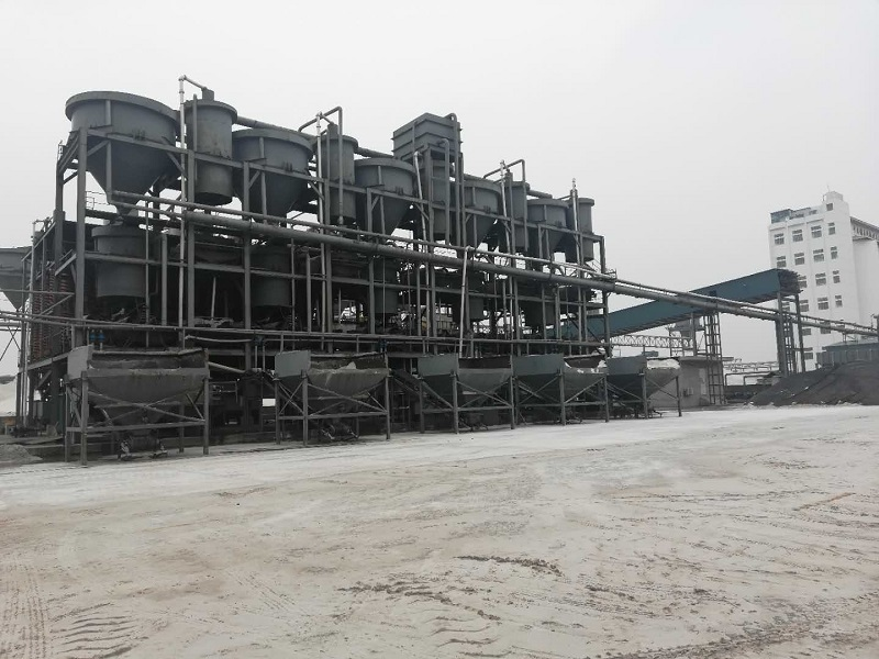 PV glass sand washing plant for sale