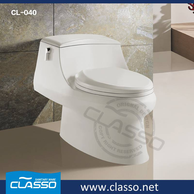 Hotel design siphonic toilet new design water closet CL-040