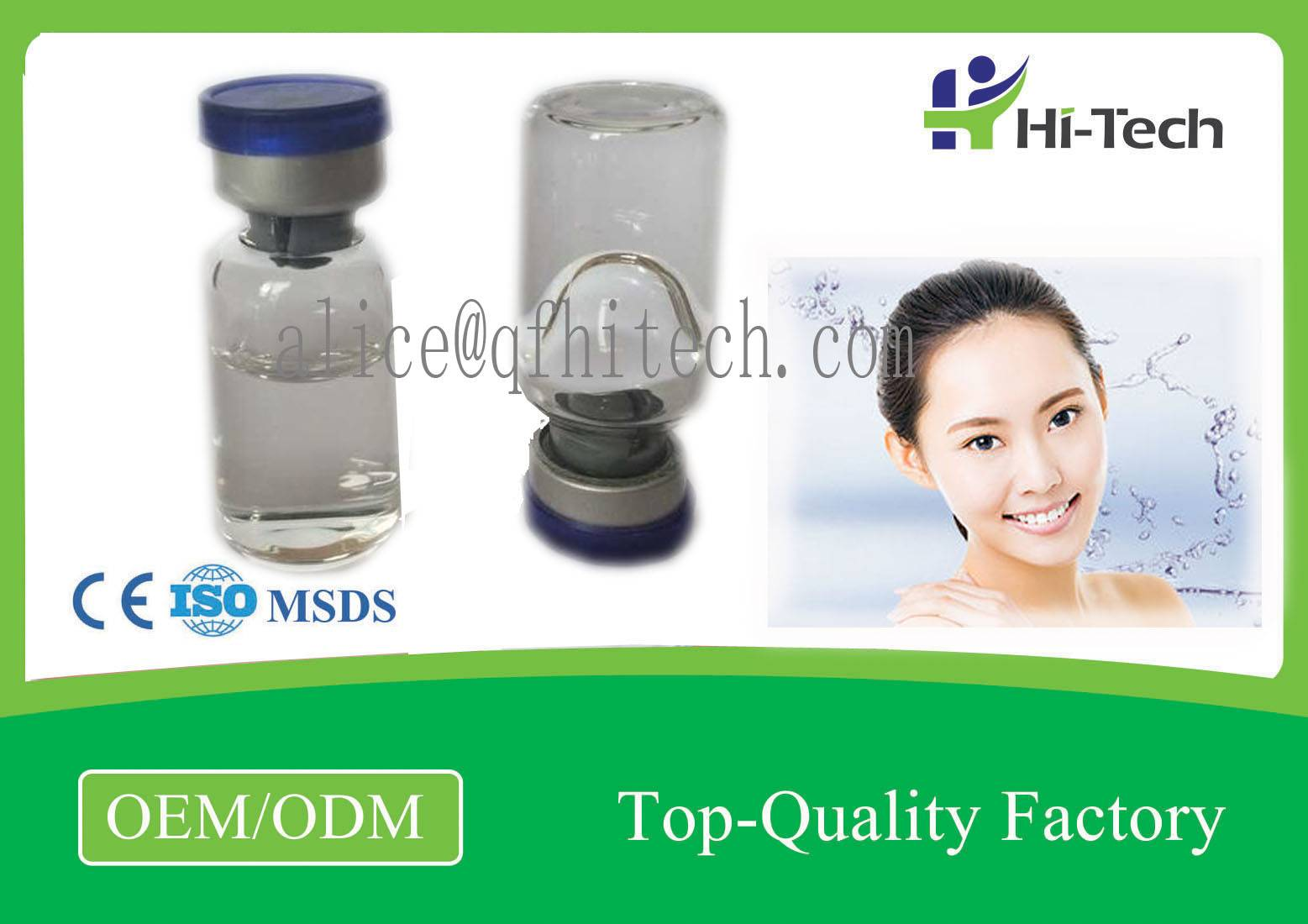 Non Cross Linked Hyaluronic Acid Injections Liquid Hydrolifting For Anti - aging 2.5ml Vial