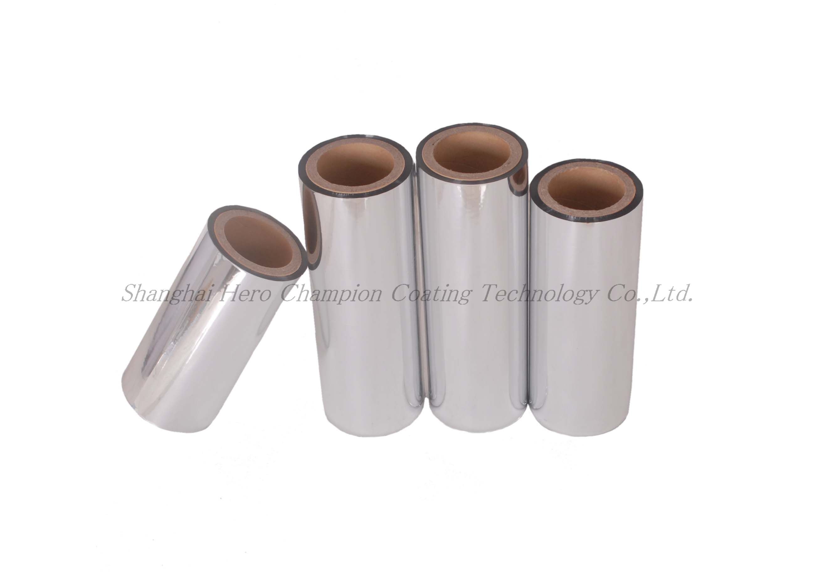 High Quality Aluminized BOPP roll metallized silver OPP film single side heat sealability