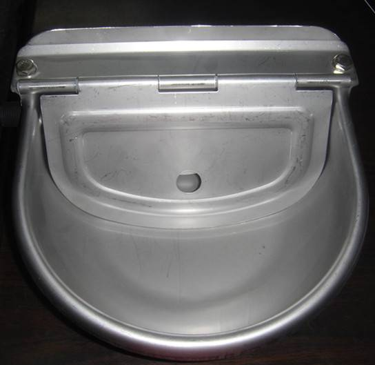 water bowl for cow stainless steel