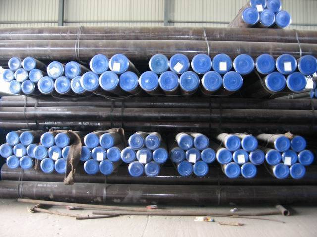 carton seamless steel pipe (ASTM A106B)(Factory )