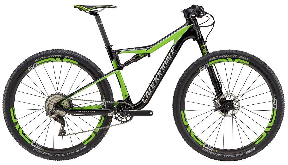 Cannondale Scalpel-Si Race Mountain Bike 2017 - Full Suspension MTB
