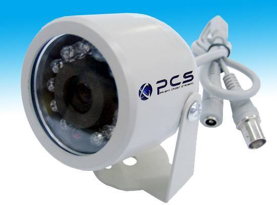 IR Waterproof Camera with HVR/NVR Connection, 2 Megapixels Consumptive Level