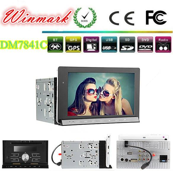high resolution 1024600 car-pad with 2G DDR3 RAM and 16G ROM DM7841C