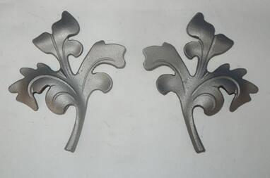 Cast steel leaf