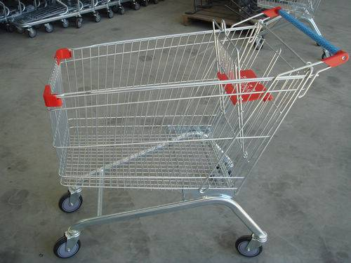 2013 hot sale European shopping trolley for supermarket