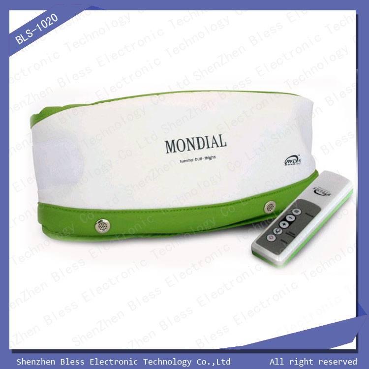 Dual motor auto heating slimming massage belt