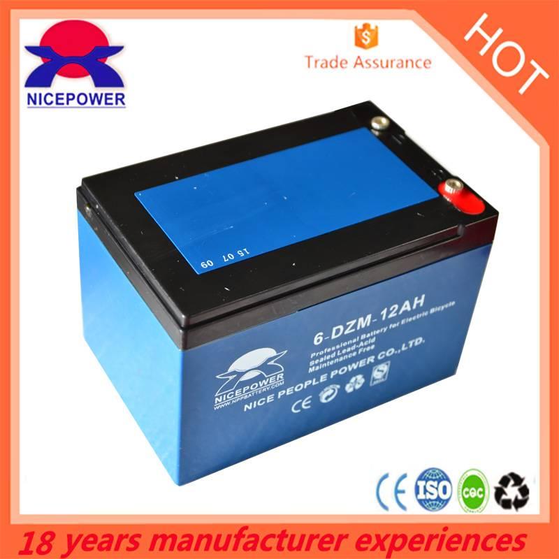 Automobiles&Motercycles battery 12 V