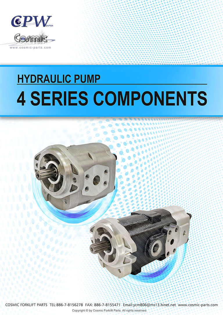 Cosmic Forklift Parts New Parts-Hydraulic pump [CPW] 4 SERIES COMPONENTS