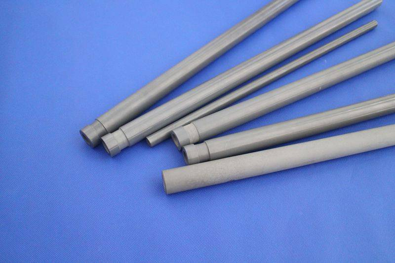 Thermal shock resistant thermocouple protection tube
