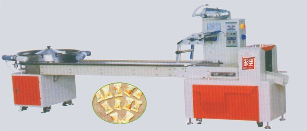 Full Automatic High Speed Flow Type Candy Packing Machine