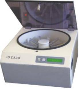 Blood ID Card Centrifuge