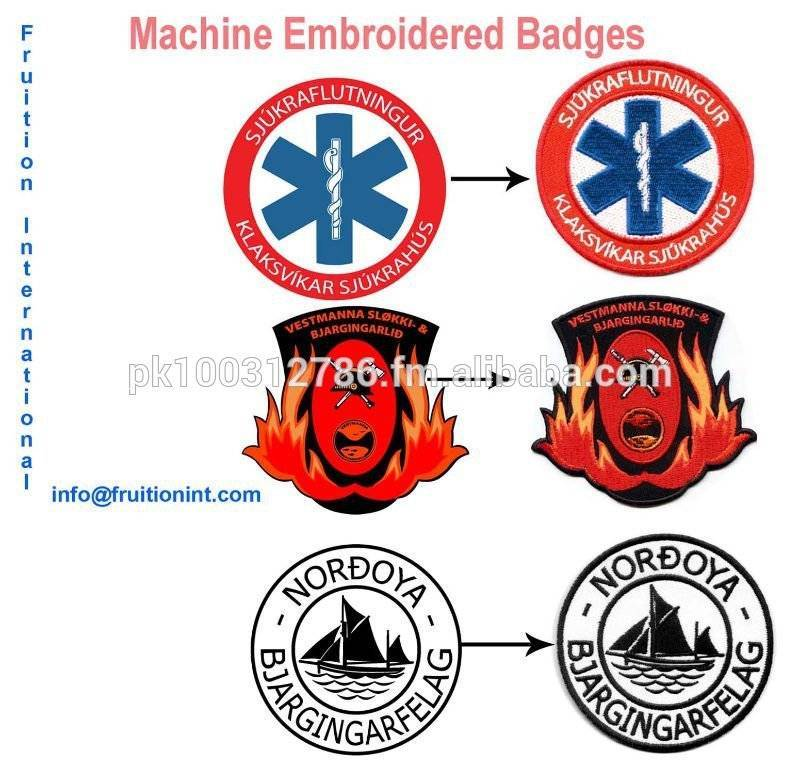 Machine Embroidered Patch