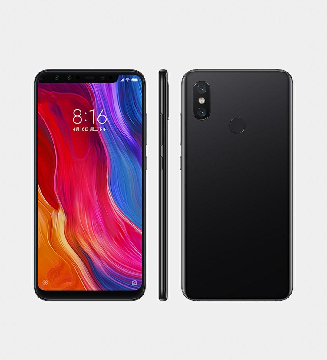 Rear fingerprint mobile phone
