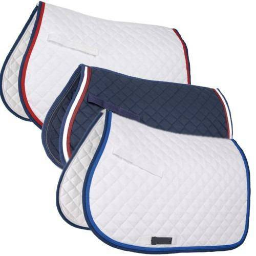 Cotton saddle pads