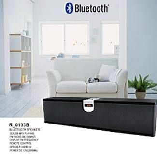 Bluetooth Speaker With SD/USB Playing&FM RADIO Frequency(88-108MHZ) Display
