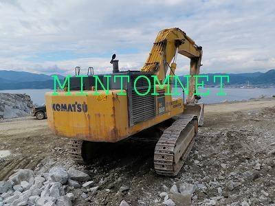 used KOMATSU hydraulic excavator PC800-7