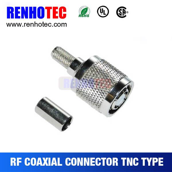 RP-TNC Crimp Male Connector For Cable RG179