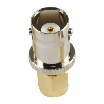 AD-SA1B4-50 SMA Connector Plug to BNC Connector Jack Adapter