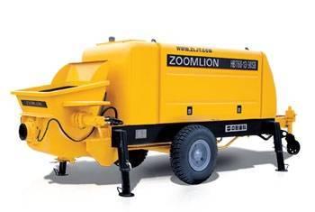Zoomlion Concrete Trailer Pump