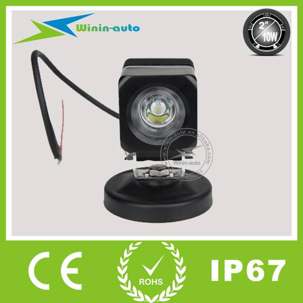 2 10W flood Beam LED Worklight for Off-road Vehicles 800 Lumen WI2104