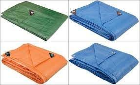 Waterproof PE Tarpaulin with Korean HDPE & LDPE