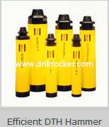 High Air Pressure DTH Hammer with Foot Valve