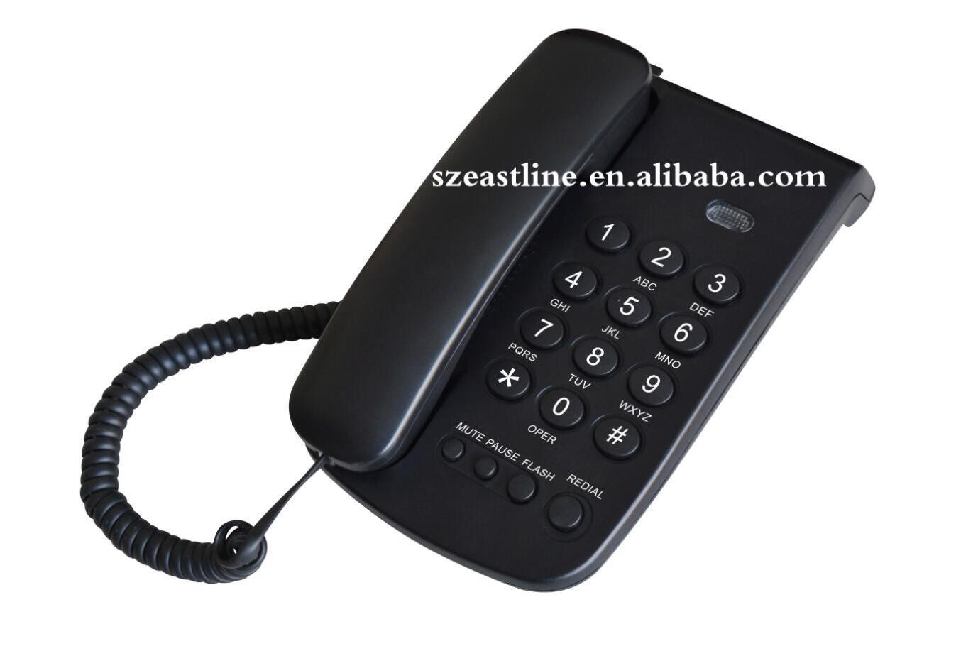Basic Corded Telephone Set with Pulse